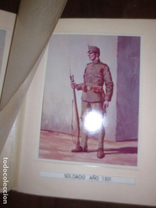 Militaria: ANTIGUO ALBUM FOTOS ORIGINALES DE CUADROS INEDITO EVOLUCION INFANTERIA ESPAÑOLA LEGION MELILLA - Foto 8 - 119495579