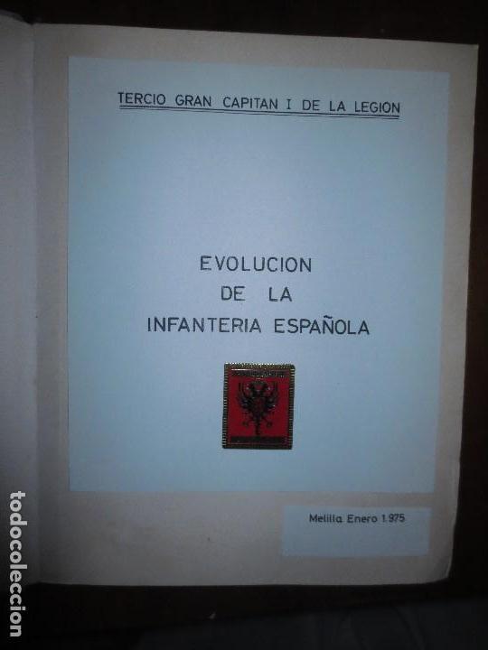 ALBUM FOTOS INEDITO EVOLUCION INFANTERIA ESPAÑOLA LEGION GRAN CAPITAN TERCIO MELILLA 1975 (Militar - Fotografía Militar - Otros)