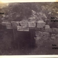 Militaria: BUNKER CERCANIAS OVIEDO REFUGIO COMANDANTE 1937 GUERRA CIVIL FRENTE NORTE. Lote 120094059