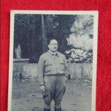 Militaria: S.E. EL GENERAL D. ANTONIO ARANDA, GUERRA CIVIL, DELEGACIÓN DE ASTURIAS EN GUIPÚZCOA,. Lote 120142663