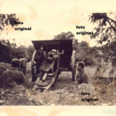 Militaria: ARTILLERIA NACIONAL BATALLA DEL EBRO ZONA GANDESA(TARRAGONA) GUERRA CIVIL 1938. Lote 120145095