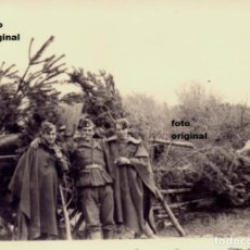 Militaria: SARGENTO ARTILLERIA CAMUFLADA ARTILLERIA NACIONAL LEGION CONDOR BATALLA EBRO 1938 GUERRA CIVIL. Lote 120146311