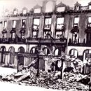Militaria: ULTIMA CIUDAD BIZKAIA DESTRUIDA MUNGIA JUNIO 1937 FRENTE NORTE GUERRA CIVIL. Lote 120186983