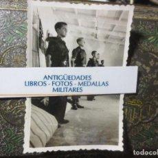 Militaria: DORMITORIO DE LOS JERARCAS FOTO ORIGINAL GUERRA CIVIL LEGION 10--X-1938. Lote 120371451