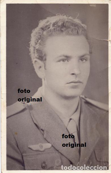 AVIADOR ITALIANO AVIAZIONE LEGIONARIA REGIA AERONAUTICA GUERRA CIVIL (Militar - Fotografía Militar - Guerra Civil Española)