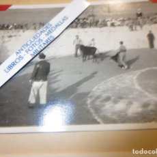 Militaria: CORRIDA TOROS EN PLENA GUERRA CIVIL PROTECTORADO ESPAÑOL - FRANCES REGULARES CIRCA 1940. Lote 120471583