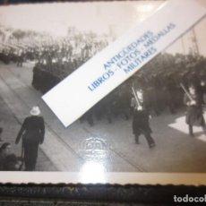 Militaria: GUERRA CIVIL IMPORTANTE FOTOGRAFIA DESFILE DE LA VICTORIA 1939 CADIZ ?. Lote 120472395
