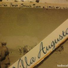 Militaria: MELILLA CAPITAN PARDO Y TENIENTE TUERO AL FRENTE DE CABALLERIA 1939 GUERRA CIVIL LEGION. Lote 120565675