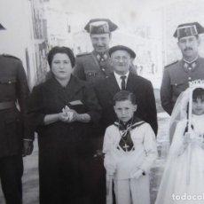 Militaria: FOTOGRAFÍA GUARDIAS CIVILES.. Lote 120568207