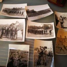 Militaria: LOTE DE FOTOGRAFÍAS MILITARES.. Lote 120842044