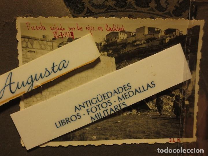 PUENTE VOLADO CASTELLET XII-I-1939 AVANCE SOBRE RIO CATALUÑA GUERRA CIVIL FOTO INEDITA ORIGINAL (Militar - Fotografía Militar - Guerra Civil Española)