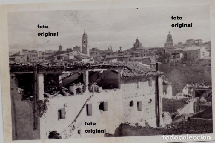ENTRADA LEGION CONDOR TERUEL TRAS LA BATALLA DE TERUEL GUERRA CIVIL 1938 (Militar - Fotografía Militar - Guerra Civil Española)