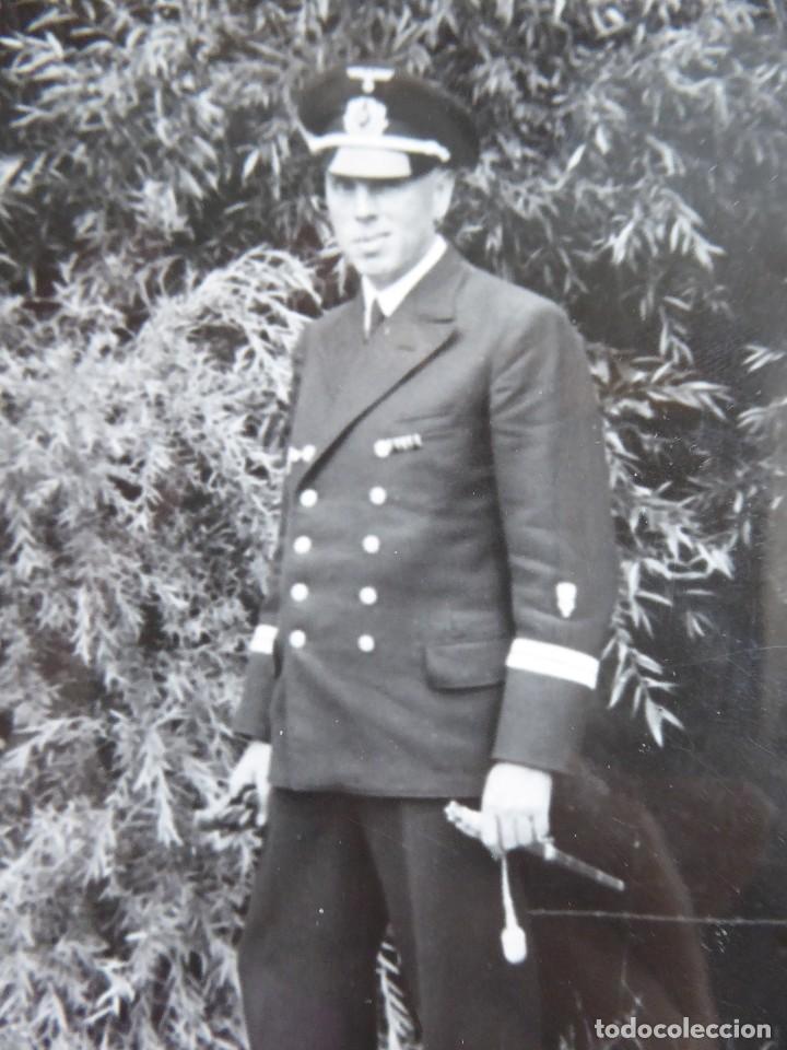 FOTOGRAFÍA OFICIAL KRIEGSMARINE ALEMANA. (Militar - Fotografía Militar - II Guerra Mundial)