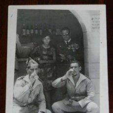 Militaria: FOTOGRAFIA DE CUARTEL DE LEGIONARIOS, LEGION, POSIBLEMENTE EN EL SAHARA ESPAÑOL, AÑOS 40, MIDE 11 . Lote 121359031