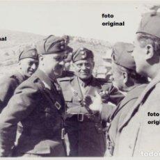 Militaria: OFICIALES CTV DIVISION LITTORIO HUESA DEL COMUN (TERUEL) GUERRA CIVIL. Lote 121637987