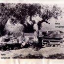 Militaria: CARRISTAS ITALIANOS BATALLA EBRO HACIA TARRAGONA RUMBO BARCELONA GUERRA CIVIL. Lote 121640427