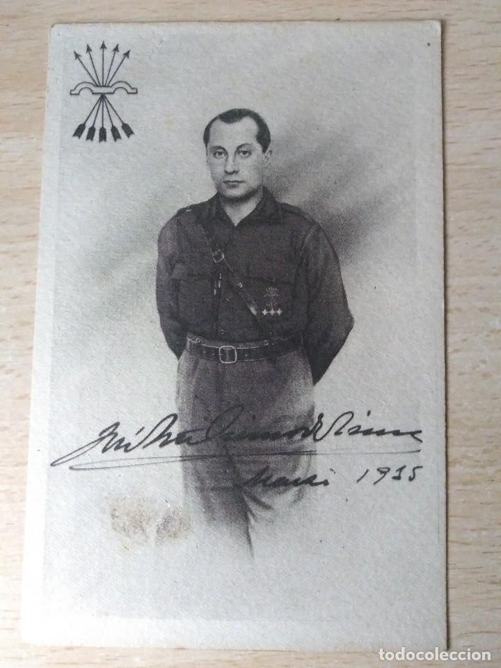 ANTIGUA POSTAL JOSE ANTONIO ORIGINAL. NO CIRCULADA (Militar - Fotografía Militar - Guerra Civil Española)