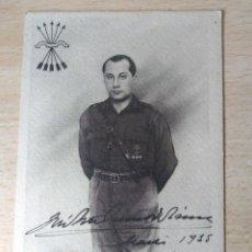 Militaria - Antigua Postal Jose Antonio Original. No circulada - 121655235