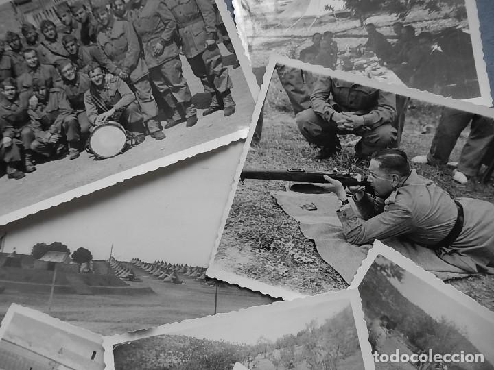 LOTE DE 7 FOTOGRAFÍAS. POSIBLEMENTE DE MALLORCA. BALEARES. (Militar - Fotografía Militar - Otros)