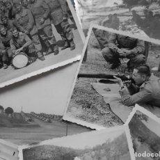 Militaria: LOTE DE 7 FOTOGRAFÍAS. POSIBLEMENTE DE MALLORCA. BALEARES.. Lote 121868267