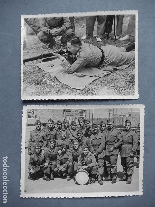 Militaria: Lote de 7 fotografías. Posiblemente de Mallorca. Baleares. - Foto 2 - 121868267