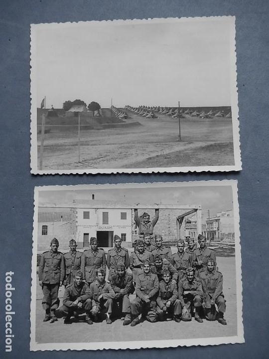 Militaria: Lote de 7 fotografías. Posiblemente de Mallorca. Baleares. - Foto 4 - 121868267
