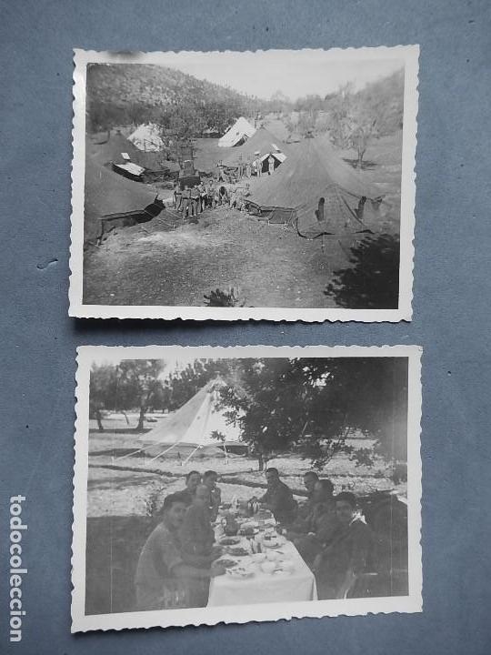 Militaria: Lote de 7 fotografías. Posiblemente de Mallorca. Baleares. - Foto 6 - 121868267