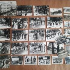 Militaria: 30 FOTOGRAFÍAS OJE FRENTE DE JUVENTUDES FORMACIÓN REVISTA ENTREGA PREMIOS. Lote 122321935