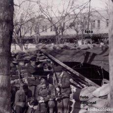 Militaria: BRIGADAS INTERNACIONALES LINCOLN? TRINCHERA MADRID? GUERRA CIVIL. Lote 122719471