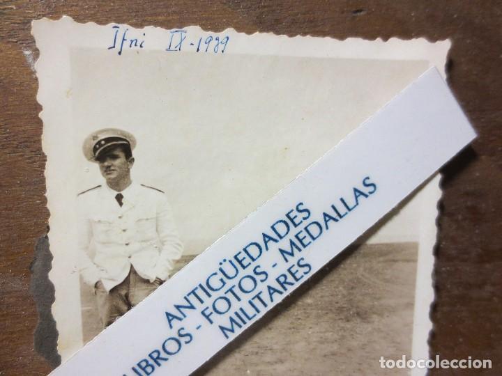 OFICIAL GRAN CAPITAN LEGION SIDI IFNI FOTO INEDITA URIGINAL GUERRA CIVIL 1939 (Militar - Fotografía Militar - Guerra Civil Española)