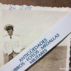 Militaria: OFICIAL GRAN CAPITAN LEGION SIDI IFNI FOTO INEDITA URIGINAL GUERRA CIVIL 1939. Lote 122808627