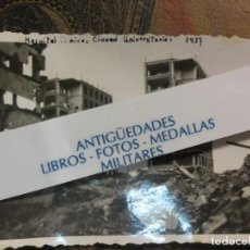 Militaria: BOMBARDEO DE AVIACION 1937 MADRID HOSPITAL CLINICO CIUDAD UNIVERSITARIA GUERRA CIVIL 1937. Lote 122839979