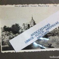 Militaria: BOMBARDEO CASA VELAZQUEZ CIUDAD UNIVERSITARIA FOTO ORIGINAL GUERRA CIVIL ESPAÑA 1938. Lote 122840867