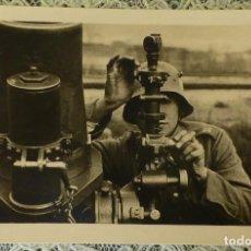 Militaria: FOTOGRAFIA ORIGINAL II GUERRA MUNDIAL ARTILLERO ALEMAN. Lote 122854647