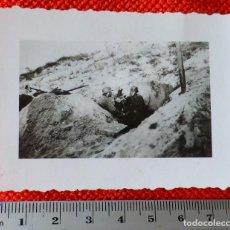 Militaria: FOTOGRAFIA ORIGINAL II GUERRA MUNDIAL PUESTO ALEMAN DE MORTERO. Lote 122867271