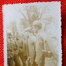 Militaria: FOTOGRAFIA ORIGINAL II GUERRA MUNDIAL SOLDADOS ALEMANES. Lote 122867739