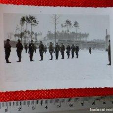 Militaria: FOTOGRAFIA ORIGINAL II GUERRA MUNDIAL SOLDADOS ALEMANES EN INSTRUCCIÓN. Lote 122870059