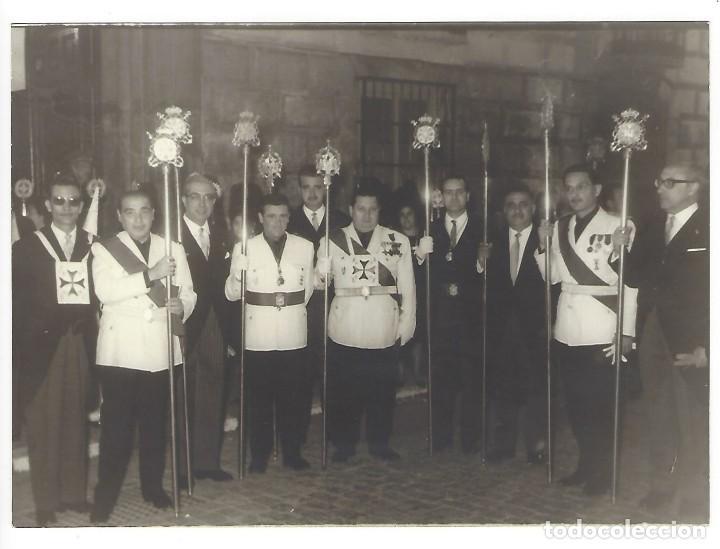 MIEMBROS DE FALANGE ESPAÑOLA EN FECHA 12 DE ABRIL DE 1965 (Militar - Fotografía Militar - Otros)