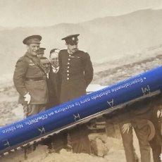 Militaria: FOTOGRAFÍA ALFONSO XIII GENERAL CARRASCO CON ROKISKI AVIACION. Lote 122943159