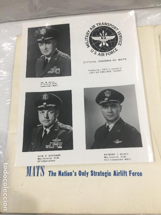 Militaria: M.A.T.S. MILITARY AIR TRANSPORT SERVICE U.S. AIR FORCE AVIONES NORTHROP COHETE NASA 10 FOTOS ORIGINA - Foto 2 - 123243191