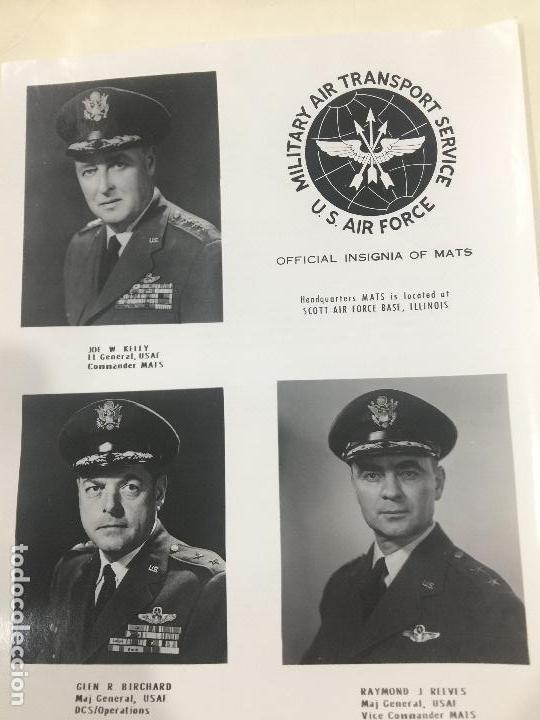 Militaria: M.A.T.S. MILITARY AIR TRANSPORT SERVICE U.S. AIR FORCE AVIONES NORTHROP COHETE NASA 10 FOTOS ORIGINA - Foto 3 - 123243191