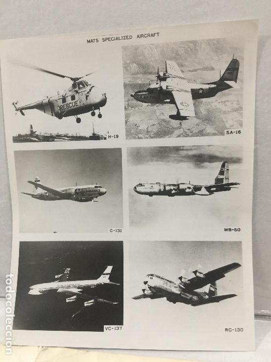 Militaria: M.A.T.S. MILITARY AIR TRANSPORT SERVICE U.S. AIR FORCE AVIONES NORTHROP COHETE NASA 10 FOTOS ORIGINA - Foto 8 - 123243191
