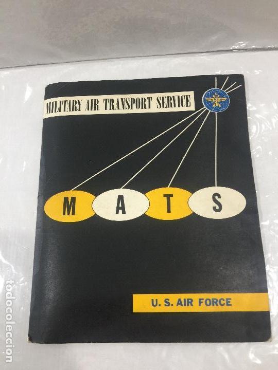 M.A.T.S. MILITARY AIR TRANSPORT SERVICE U.S. AIR FORCE AVIONES NORTHROP COHETE NASA 10 FOTOS ORIGINA (Militar - Fotografía Militar - II Guerra Mundial)