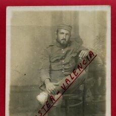 Militaria: FOTOGRAFIA MILITAR, TAMAÑO POSTAL , FOTO ANTIGUA , ORIGINAL , ME 20. Lote 123500047