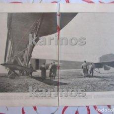 Militaria: I G.M. 1916. AVIÓN GIGANTE RUSO ILYA MOUROMETS. AVIONES FRANCESES EN SERBIA. LA CRUZ DE GUERRA A LA. Lote 123538939
