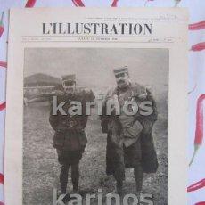 Militaria: I G.M. 1916. AVIADORES SARGENTO GUYNEMER Y CAPITÁN BROCARD CONDECORACIONES. MONOPLANO MORANE-SAULNIE. Lote 124140295