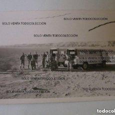 Militaria: A1 FOTO ORIGINAL SANTANA 1300 LA LEGIÓN TIPO LAND ROVER TERCIO MELILLA CEUTA O SAHARA ESPAÑOL. Lote 124516607