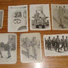 Militaria: LOTE DE 10 FOTOGRAFIAS SAHARA LEGION 3 TERCIO VARIOS ASPECTOS. Lote 124694487