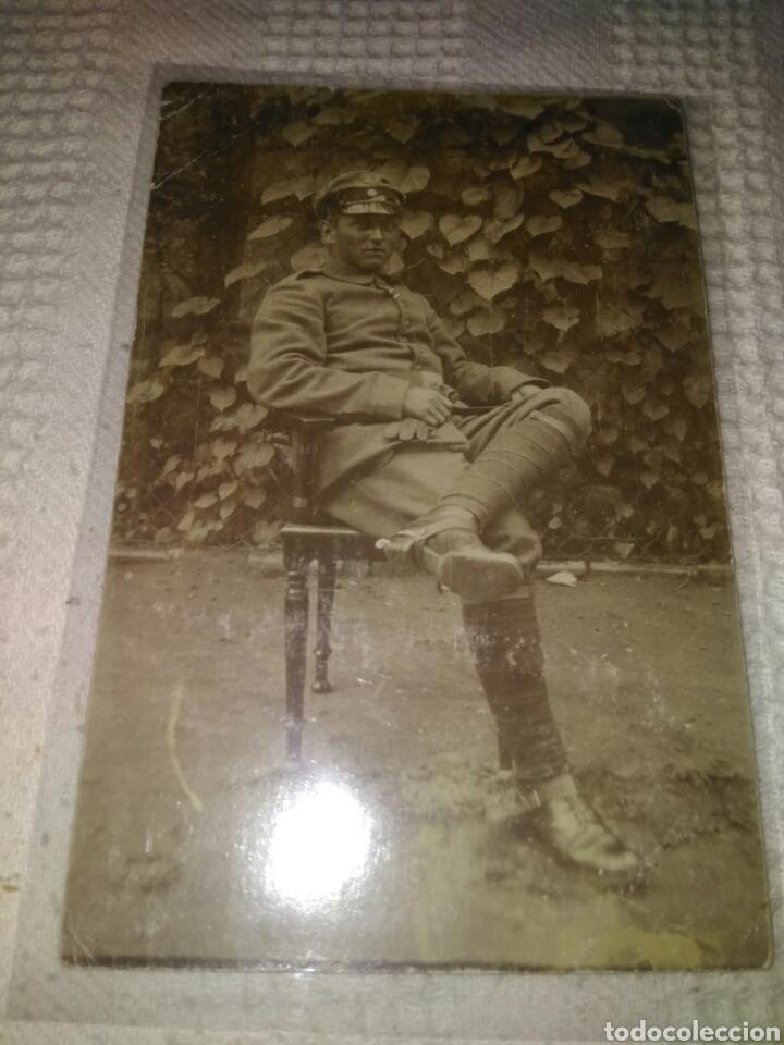 FOTOGRAFÍA MILITAR SOLDADO ALEMAN AÑO 1912 (Militar - Fotografía Militar - I Guerra Mundial)