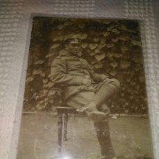 Militaria: FOTOGRAFÍA MILITAR SOLDADO ALEMAN AÑO 1912. Lote 124797191